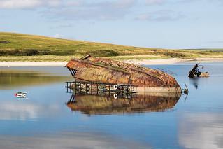 WW1 Blockship, Orkney