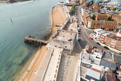Portsmouth (thephantomzone2018) Tags: horatio nelson statue porchester castle spinnaker tower the square old sally port round clarence pier royal garrison church portsmouth ferry ferries thephantomzone2018 dji drone departure fun fair landmark phantom p4p