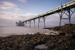Clevedon Pier (northcountrygirl) Tags: pier sea seaside clevedon gradeilisted longexposure sigma1020 haida10stopnd neutraldensity