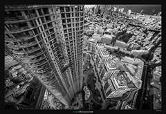 Looking down TLV (Ilan Shacham) Tags: architecture cityscape fineart fineartphotography city perspective leadingline beauty view scenic telaviv tlv