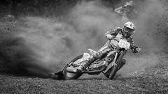 Speedway (NoBudgetPhoto.de) Tags: bw bike dirt dust grasbahnzweibrücken motorcycle motorrad rennen rennengrasbahn schwarzweiss speedway zweibrücken rheinlandpfalz deutschland de