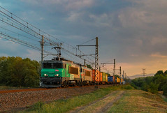 La BB22275 en tête du Naviland VSX-Le Havre (AziroxY) Tags: trainspotting trains train photo photographie plm photosncf coucher de soleil bb22275