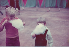 At the circus eating cotton candy (nick_cw1861) Tags: philsmith brother circus cottoncandy germany zweribruken