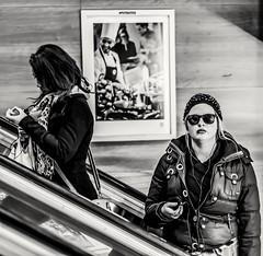 To observe... Or to be observed... (mikeback-streetphotography) Tags: streetstyle streetphotographer stockholm streetarteverywhere streetportrait streetphotographystreet streetlife streetphoto streetartistry streetphotography street station streetphotographers streetart bnw urban monochromatic monochrome mono blackwhite black blackandwhite blackandwhitephotography