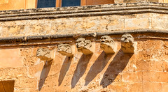 Gargoyles (nicklucas2) Tags: gargoyle menorca ciutadella travel architecture photoshop