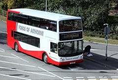 Friday Only (Chris Baines) Tags: fords althorne dennis trident alexander alx 400 t90 bus chelmsford number 3 service bradwellon sea