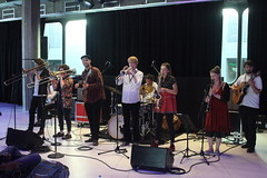 Op Sa! (2018) 01 (KM's Live Music shots) Tags: worldmusic serbia greatbritain balkanmusic brassband opsa meltdownfestival fridaytonic southbankcentre