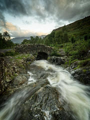 an uninspired ashness bridge (akh1981) Tags: walking wideangle water waterfall amateurphotography cumbria clouds countryside river beautiful nikon nisi nature nationalpark nisifilters nationalheritage nationaltrust manfrotto mountains moody morning landscape lakedistrict longexposure rocks travel trees uk unesco outdoors