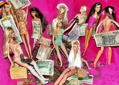 We`re in the Money  #Memorabilia (marieschubert1) Tags: money currency cash foreign travel barbie doll mattel memories flickrfriday memorabilia