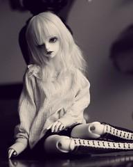 Monochrome (zawnbee) Tags: bjd doll ball jointed bjds abjd balljointeddoll dollzone carter