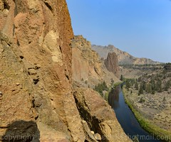 Looking NE to the Christian Bros/Dihedrals and Morning Glory Wall (mclick!) Tags: bend ore oregon portraits family smith rock beer festival gas pump vintage agebackyard outdoor volcanic newberry park highway people kids old barn ice cream parlor sisters bachelor dee wright observatory washington black butte broken top north south sister