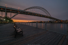 Sunset and Smoke (John Behrends) Tags:
