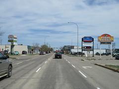 Driving through Edson, Alberta in our family motorhome - part 2 (jimbob_malone) Tags: 2018 highway16 edson alberta