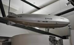 The Higgins, Bedford (carolyngifford) Tags: higgins museum artgallery bedford r101 airship model cardington