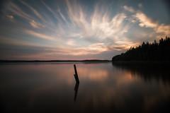 Evening at Hell's Lake (Björn Knif) Tags: helvetinjärvi suomi finland kansallispuisto national park evening sunset landscape longexposure haukanhieta ruovesi nikon