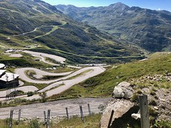 Life's journey (AngharadW) Tags: cycling switchbacks hairpin mountain angharadw life'sjourney road valthorens