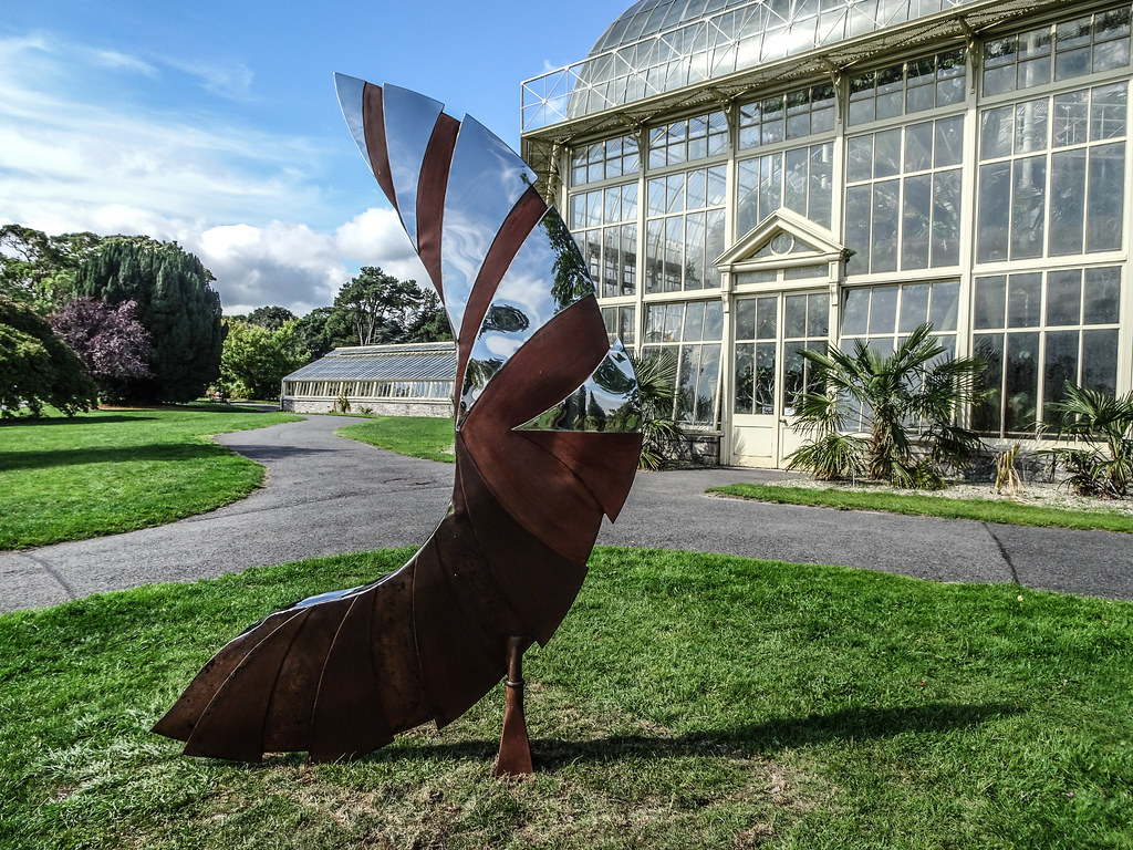 2018 SCULPTURE IN CONTEXT EXHIBITION BEGINS NEXT THURSDAY  AT THE BOTANIC GARDENS[I MANAGED TO GET A SNEAK PREVIEW TODAY]-143677