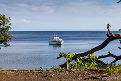 Boat on the Water 3271 (Ursula in Aus (Resting - Away)) Tags: jimclinephototour milnebay png papuanewguinea tawali