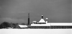 Linkwood-Destillerie (Andreas Gugau) Tags: schottland whisky speyside schnee winter elgin unitedkingdom