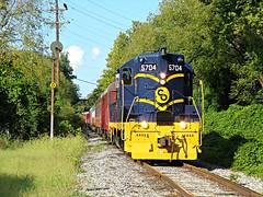 CRC 5704 - Rendcomb Junction - Linwood, OH - 09022018 (dtrohdenburg) Tags: crc lmm co gp7 fireworkstrain linwood ohio rail experience