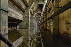 . reflexion (. ruinenstaat) Tags: tumraneedi ruinenstaat inruins lostplaces platzderaltensteine urbanexploration urbex concrete water reflexion industry industrial industrialsite