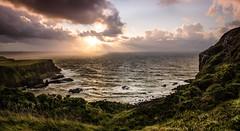 North_Coast_Sunset (Gary Robinson Photography) Tags: northernireland ireland seascape sunset giantscauseway north coast sky