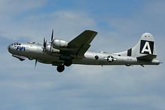 NX529B (Commemorative Air Force) (Steelhead 2010) Tags: yhm cwhm canadianwarplaneheritagemuseum fifi americanairpower commemorativeairforce b29 superforstess nreg nx529b boeing