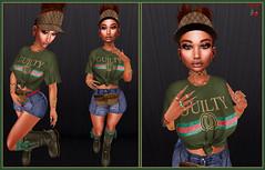[CPS] Gucci Gang (Skylah Kesslinger) Tags: lotd secondlife slblogger estilovirtual latinasensl fameshed pumpkin cake 7 se7en addamsclothing lbswear mons swallow realevilindustries studioexposure luxrebel