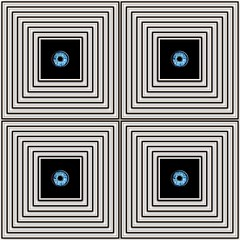 4 eyes (pbo31) Tags: sanfrancisco california patterns september 2018 summer boury pbo31 blackandwhite frame monocrome eye box 4 cube square eyes