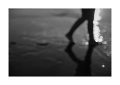 Caminante no hay camino... Se hace camino al andar! (protsalke) Tags: caminante serrat camino playa andar orilla verso poeta estelas senda huellas blackandwhite monochrome prime 50mm memories past recuerdos pasado bokeh 50mmnikkorais
