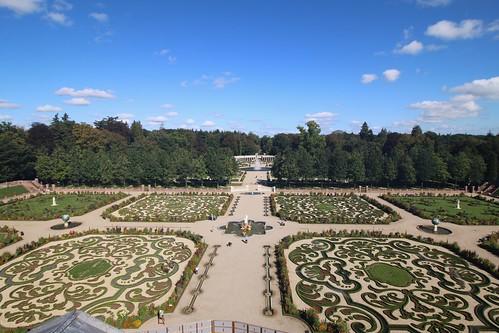 Palacegarden in the sun