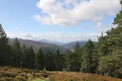 Over the mountains to Schiehallion (cj_hunter) Tags: overthemountainstoschiehallion schiehallion mountians scotland perthshire highland wild wilderness remote cloud clouds walking walk hike hiking trees trail