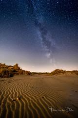 A night on the beach (Ellen van den Doel) Tags: nacht night natuur landscape hoek nature stars project ellenvandendoel evening september outdoor beach sand landschap strand way melkweg milky sky kwade nightphotography sterren lines 2018