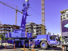 Take a crane to make a crane (Tony Tomlin) Tags: whiterockbc britishcolumbia canada southsurrey cranes construction liebherr