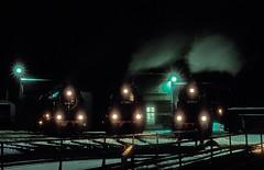 95 1027  Sonneberg  26.02.93 (w. + h. brutzer) Tags: sonneberg eisenbahn eisenbahnen train trains deutschland germany railway dampfloks steam lokomotive locomotive zug db dr dampflok webru analog nikon 95