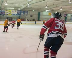 Puck Chaser (mnmfotofolio) Tags: hockey frederick maryland firedepartment frederickfire annapolischiefs ice icerink hockeyrink hockeystick puck hockeypuck sport skate iceskating sonya7ii sony 280mm