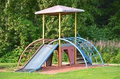 Champlain Street Playground (Joe Shlabotnik) Tags: maine aroostook vanburen 2018 august2018 playground afsdxvrzoomnikkor18105mmf3556ged