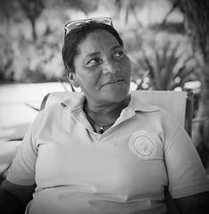Evelyn - El Rodadero (RoryO'Bryen) Tags: evelyn santamarta elrodadero portrait retrato strongwomen asociacióndemujeresemprendedorasdepalermo leader lideresa roryobryen copyrightroryobryen colombia ciénagagrandedesantamarta recycling reciclaje kodaktrix 120mm colombie rolleiflex