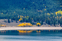Fall reflections (palbion) Tags: blossomsfoliage twinlakes colorado unitedstates us