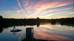 2016-09-07 06 HH Stadtparksee Abend (kaianderkiste) Tags: germany hamburg stadtpark himmel dämmerung sky dawn dusk abenddämmerung see stadtparksee