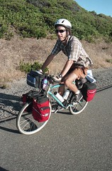 Riding Up Highway 101 (marmotfotos) Tags: bike road goldbeach oregon biketrip biketouring