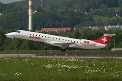 HB-JAY, Zurich, May 16th 2004 (Southsea_Matt) Tags: hbjay swissinternational embraer erj145lr zurich kloten lszh zrh switzerland canon 10d may 2004 spring airplane aeroplane jetplane jet jetliner airliner aviation plane transport regionaljet