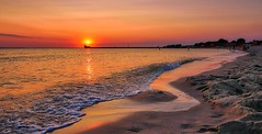 """Hel"", Poland (Vest der ute) Tags: g7xm2 g7xll sea seascape water sunset beach people sky sand trees buildings fav25 fav200"
