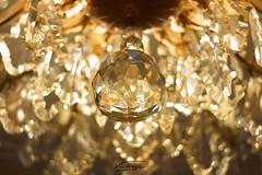 chandelier (detail) (Veitinger) Tags: lampe light leuchter kronleuchter chandelier detail kristall crystal glas glass licht lichter lights veitinger sony pentacon