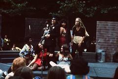 Performers at Bumbershoot, 1974 (Seattle Municipal Archives) Tags: seattlemunicipalarchives seattle seattlecenter bumbershoot festivals 1970s