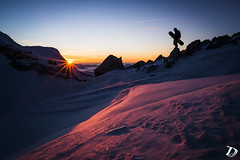 Last ray of sunshine ©DeschampsDamien (deschdam6@gmail.com) Tags: lifestyle elements sunset epiclight light sun sunstar ridge snow pink blue sky mountains man life snowboard snowboarding snowboarder wideangle landscape photography landscapephotography lifestylephotography nature artwork crystals ice rock chamonixmontblanc france alps adventure adventurephotography silhouette shape shadows shapes outdoors framed cadrage composition skyline