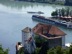 Passau - Drei Flüsse Stadt / Three Rivers Town (ursula.valtiner) Tags: inn donau danube ilz passau deutschland germany
