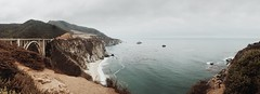 Bixby Creek Bridge (Natalia K.) Tags: bigsur bixbycreekbridge monterey misty bridge ocean highway1 california nataliaklimovaphotography