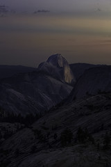 Astronomical Twilight (Omnitrigger) Tags: halfdome yosemite olmstedpoint astronomicaltwilight nature granite
