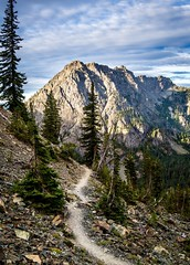 First post in a while. I've still been hiking and taking pictures but I've slowed down on my social media usage. This was taken last weekend in Wenatchee National Forest, Washington (plottsdaniel) Tags: pacificnorthwest pnw explore travel hike hiking sunrise nature mountains mountain trail canon6d canon wenatcheenationalforest wenatchee